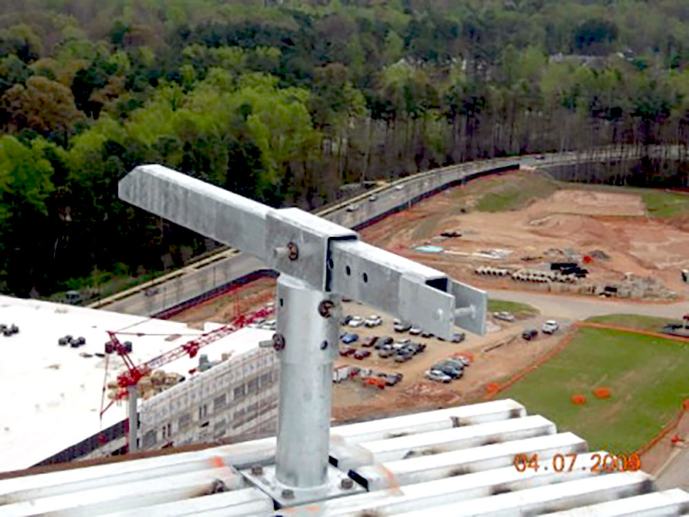 A Rigging Sleeve is an important part of roof davit systems